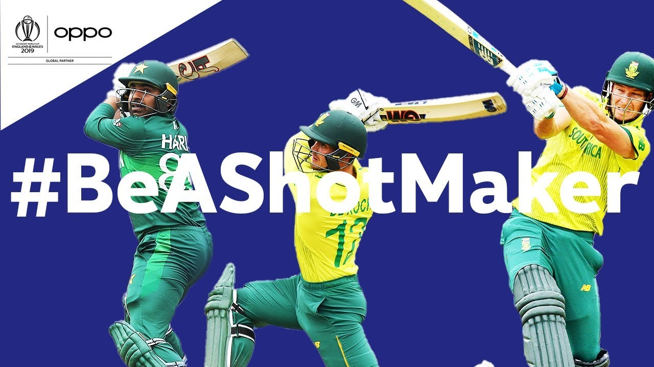 Oppo #BeAShotMaker   Pakistan vs South Africa - Shot of the Day   ICC Cricket World Cup 2019