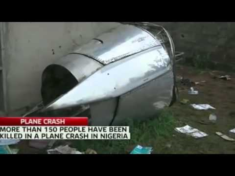 People LOOT Plane CRASHES Into Apartment Building in Nigeria