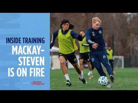 Gary Mackay-Steven Is On Fire 🔥  | INSIDE TRAINING
