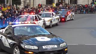 London's New Year's Day Parade - 2018 - Police Car from America