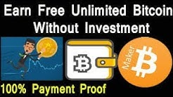 Earn unlimited free bitcoin . earn up to 0.01BTC per day. |without investment||withdraw proof |100%%