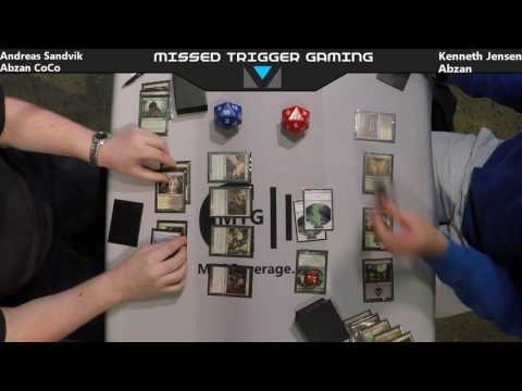 Round 2 - Andreas Sandvik vs Kenneth Jensen