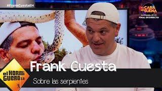 Frank Cuesta da las claves para detectar una serpiente peligrosa - El Hormiguero 3.0