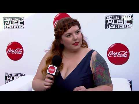 Mary Lambert Red Carpet Interview - AMAs 2014