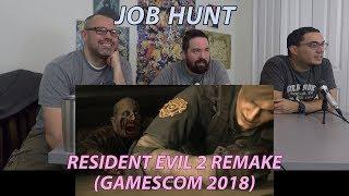 Resident Evil 2 Remake Gamescom 2018 Trailer Reaction