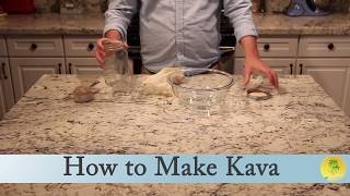 How to Make Kava