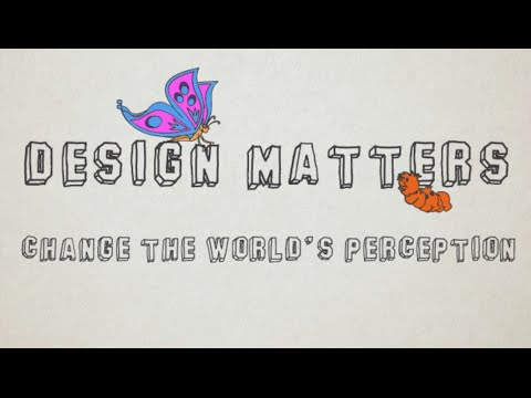 Design Matters - Change the World's Perspective - PresentationGFX