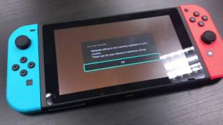 Nintendo Switch - Nintendo eShop is not currently available in the country #annoying
