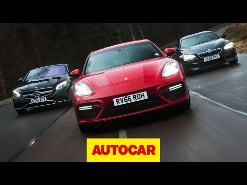 Porsche Panamera Turbo v BMW M6 v Mercedes-AMG S 63: Ultimate luxury sports cars tested | Autocar
