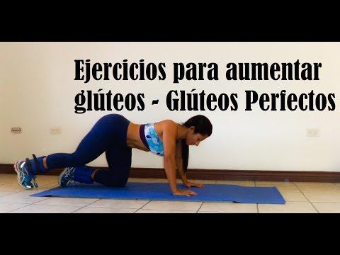 Rutina de ejercicios para aumento de gluteos