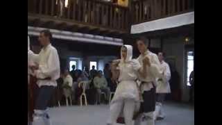 Les jeunes de la Tourbillante à St Pee sur Nivelle - Octobre 2004