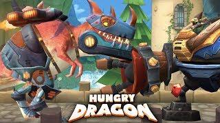 T-WRECKS THE ROBOT DINOSAUR DRAGON (?) ! - NEW DRAGON UPDATE  |Hungry Dragon |Ep 27