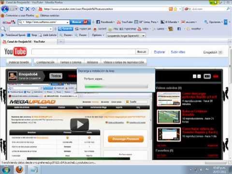Como descargar Ares Rapido y Facil 2011