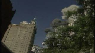 9/11 WTC Rare Video of First Plane Attack - WNYW TV