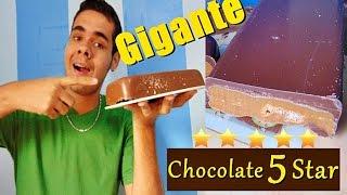 COMO FAZER CHOCOLATE 5 STAR DA LACTA GIGANTE
