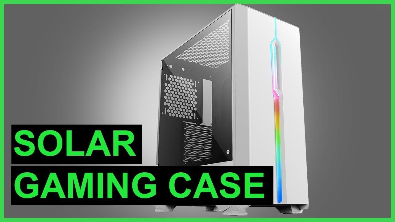 GameMax Solar (White) Mid Tower ARGB Case