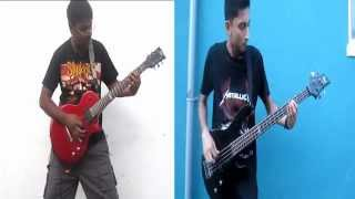 Disturbed Ten thousand fists Guitar and Bass cover
