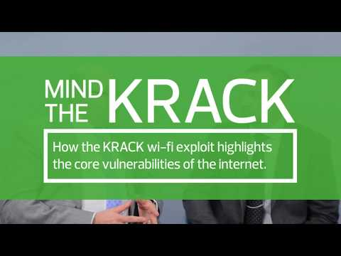 Mind the Krack- How the KRACK wi-fi exploit highlights the core functionality of the internet.