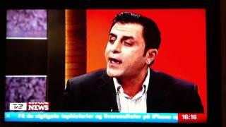 Debat på Tv2 News: Serdal Benli SF og Ünsal Turan