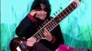 Niladri Kumar playing a Electric Sitar