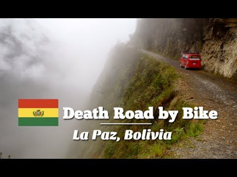 Biking down the Death Road in La Paz, Bolivia (Travel Videoblog 034)
