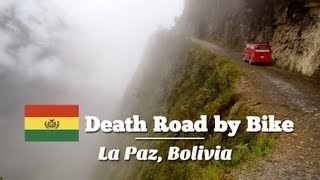 Biking down the Death Road in La Paz, Bolivia (Travel Videoblog 034)(Biking down the Death Road in La Paz, Bolivia is one of the MUST-DOs for adventure seeker traveling South America. I decided to do this Mountainbike ..., 2012-12-11T21:00:25.000Z)