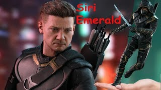 Preview of Jeremy Renner as Ronin/Hawkeye 1/6 Scale Hot Toys Action Figure MMS 531/532