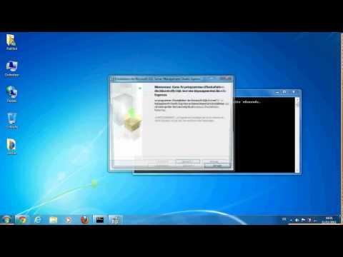 installation sql server management studio express 2005 sur windows 7