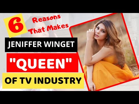 """6 Reasons that makes Jennifer winget """"The Queen"""" of Television Industry   Glam Up"""