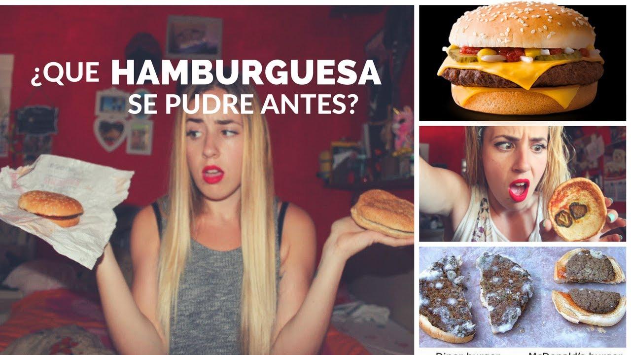 ¿Son inmortales las hamburguesas del Burguer king?¿Que nos estamos comiendo?¡Hoy las pongo a prueba!