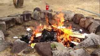 """Burn burn burn """"Shimekazari"""" Sanabe Shrine - Osaka, Japan"""