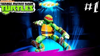 Черепашки Ниндзя.Черепашки ЛЕГЕНДЫ #1.Видео игры черепашки ниндзя.Teenage Mutant Ninja Turtles games
