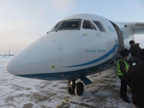 Angara Airlines An-148-100E - Flight from Mirny (MJZ) to Krasnoyarsk Yemelyanovo (KJA), Russia