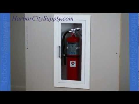 Recessed Fire Extinguisher Cabinet - JL Industries