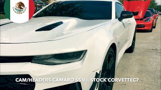 Corvette C7 vs. Camaro SS