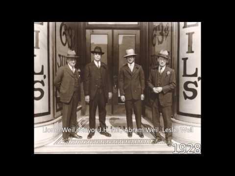1950s Weil's Department Store Radio Jingle - Goldsboro, NC - Upbeat Version
