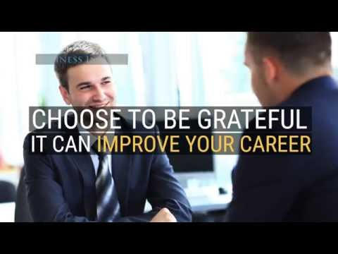Studies show people work harder for a grateful boss