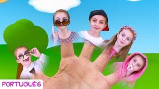 A Família dos Dedinhos   Finger Family Nursery Rhyme   Canção infantil por Sunny Kids Songs