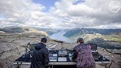 Einmusik b2b Jonas Saalbach live @ Preikestolen in Norway for Cercle