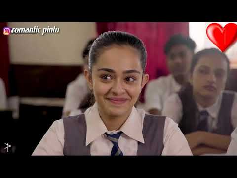 School ka Pehla Pyar romantic funny Love Story video😘😘