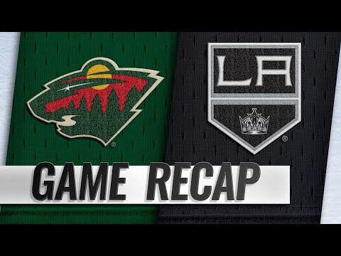 Parise, Dubnyk lead Wild to 3-1 victory against Kings