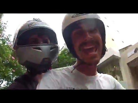 Vietnam Laos Motorbike trip, French - English subs