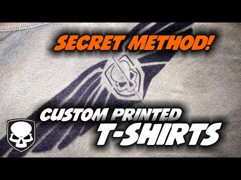How to make Custom T-shirts – the easy way