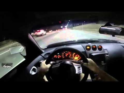 SUPERMAN SPEEDING THROUGH HEAVY TRAFFIC - 350z STREET RACING!
