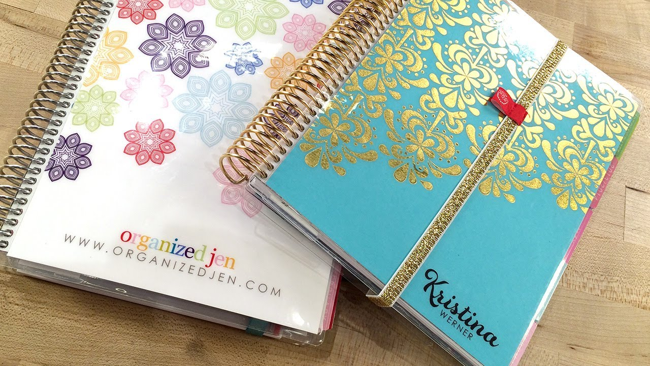 A Look At My Erin Condren Life Planner With Jen Youtube