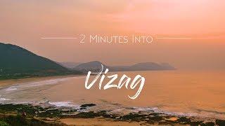 2 MINUTES INTO VIZAG | HYPERLAPSE FILM | 4K UHD
