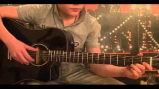 Kreed ft. Алексей Воробьев-Больше чем любовь,гитара (урок)