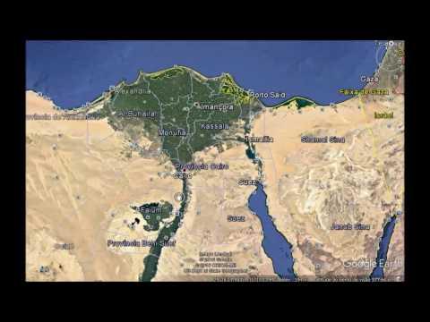 Caminho De Israel Ao Sair Do Egito