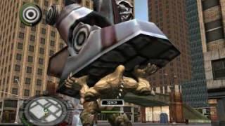 The Incredible Hulk Walkthrough part 6