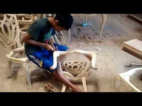 how to make carving a chair